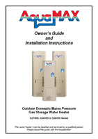 Electric water heater brochure