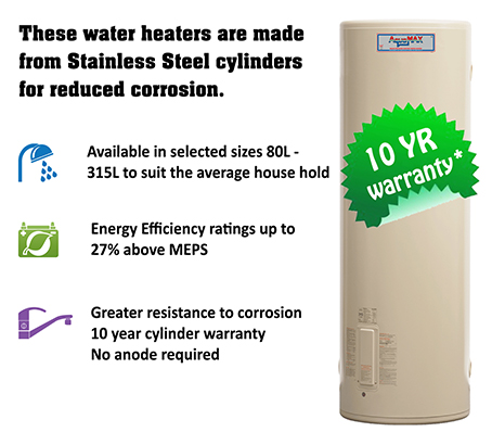 Electric Stainless Steel Water Heaters