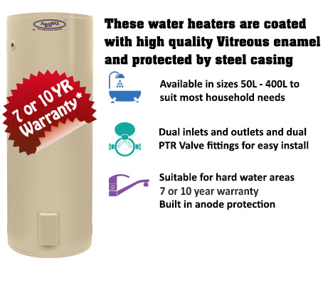 Electric Vitreous Enamel Water Heaters